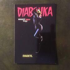 Cartolina Card DIABOLIKA Renault Twingo , Promocard n.3623 Diabolik Eva Kant