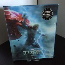 Thor The Dark World Lenticular Steelbook 3D Blu-Ray Korea KimchiDVD + Bonus Gift