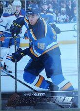 ROBBY FABBRI 2015-16 Upper Deck Hockey Young Guns Rookie Card