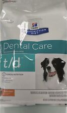 Hill's T/D Dental Care Chicken Dry Dog Food, 5#Bag (Great For Treats)
