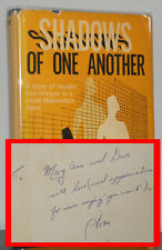 Thomas Cox - Shadows of One Another - SIGNED 1st 1st - Hubin Listed Mystery - NR