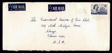 Dr Who 1968 Australia Hamilton Central Airmail To Usa C218434