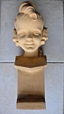 SEVRES buste enfant (terre cuite chamottée) ART DECO signé LEJAN 1930