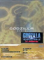 GODZILLA-THE PLANET EATER COLLECTORS EDITION-JAPAN 2 BLU-RAY+BOOK W10 sd