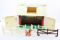 Vintage 1967 #915 Fisher Price Little People Play Family Farm Barn