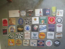 BEER /& CIDER COASTERS collectable 33 different AUSTRALIAN Brewery Issue
