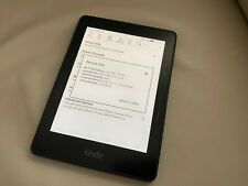 """Amazon Kindle Voyage 7th Gen E-Reader 4GB WIFI 6"""" Tablet Touch with BackLight"""