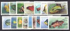 Bahamas #604-18A Mint Nh - 1886 Fish Set ($65)