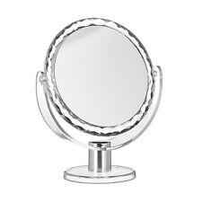 Kosmetikspiegel Vergrößerung, Schminkspiegel stehend, Make Up Spiegel rund klein