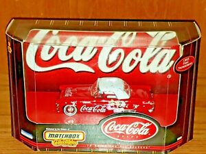 Coca-Cola 1955 Ford Thunderbird Matchbox Collectibles Die-cast New Coke Brand