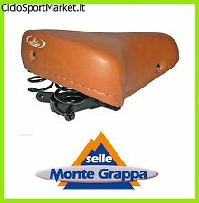 Saddle Montegrappa with Springs / Ideal for Bicycles Old-Time / Vintage/City