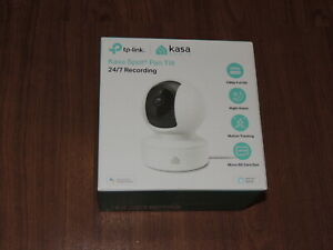 New - TP-Link Kasa Spot Pan & Tilt Indoor Surveillance Camera - KC115 Ver. 3.8