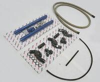 OBX Blue Fuel Injection Rail Fit 05 06 07 08 09 Mustang GT 4.6L SOHC V8 3-Valve