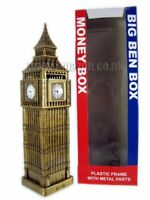 London Big Ben Money Box Made of Plastic with Metal Parts