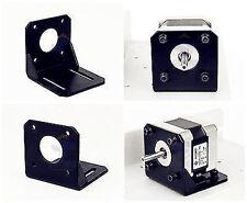 For 42mm NEMA17 Stepper Motor w/ Screws  Alloy Steel Mounting Bracket new