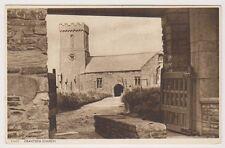 Cornwall postcard - Crantock Church (A850)