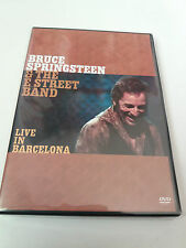 "DVD ""BRUCE SPRINGSTEEN & THE E STREET BAND LIVE IN BARCELONA"" 2 DVD COMO NUEVO"