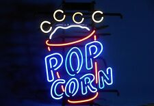 "New Pop Corn Business Open Neon Sign 24""x20"" Ship From USA"