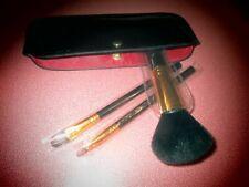 ELIZABETH ARDEN  Professional Makeup Brush Trio 3 Brushes in Case New