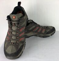 Merrell Men's J87323 Moab Mid Gore-Tex XCR/ Dark Chocolate Boots Mens Sz 13 NICE
