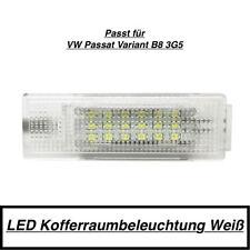 1x LED MODUL 18 SMD Kofferraumbeleuchtung VW Passat Variant B8 3G5 Weiß (7406)