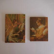 2 reproductions Auguste RENOIR art déco XXe PN France