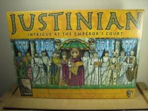 JUSTINIAN, INTRIGUE AT THE EMPEROR'S COURT - MAYFAIR GAMES - BOARD GAME