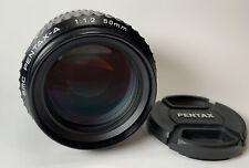 PENTAX SMCP-A 50mm f/1.2 MF Lens (20987)