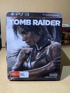 TOMB RAIDER STEELBOOK PS3 - EXCELLENT CONDITION