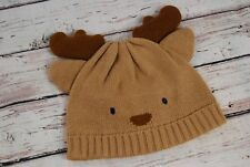 NWT! GYMBOREE HOLIDAY KNIT REINDEER BEANIE