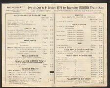 """CLERMONT-FERRAND (63) USINE d'ACCESSOIRES pour VELO MOTO  """"MICHELIN & Cie"""" 1921"""