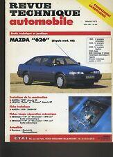 (7A)REVUE TECHNIQUE AUTOMOBILE MAZDA 626 / 323 / LANCIA DELTA PRISMA