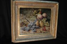 P.W. Johnson Still Life of Fruit - Signed Framed Original