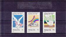 1984 Malta MNH - 10th Anniv Republic