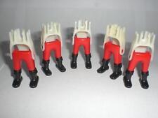 Playmobil 5. caballero garde piernas rojas botas negras 4871 4874