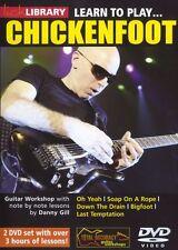 Fare clic su Libreria imparare a giocare CHICKENFOOT Joe Satriani ROCK POLLO PIEDE CHITARRA DVD