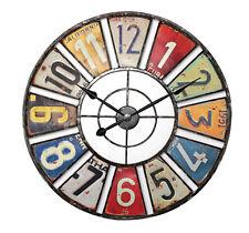 Balance Wanduhr 60 Cm Retro rund groß analog Zeitmesser Chronometer Zahlen Mm