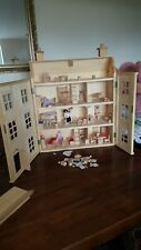 Wooden dolls house used