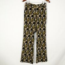 1960s STYLE PARTY PANTS - ONE DREAM ONE WISH women's pants s 8 retro pattern