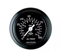 106373 NOS Datcon 52mm Heavy Duty Industrial Ammeter Gauge 300-0-300 Amp