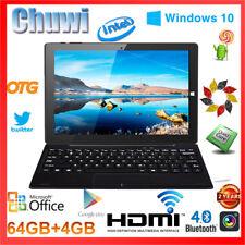 CHUWI Hi10 Tablet PC 4+64GB 10.1'' Win10+Android 5.1 1920x1200 HDMI+Keyboard