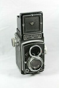 Rolleicord DBP DBGM Twin Lens Camera - Untested