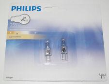 Set x2 Ampoule Halogene G4 250 Lumen Blanc Variable 20w Warm White PHILIPS