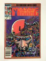 MACHINE MAN #2 (1984) | 1ST ARNO STARK IRON MAN 2020; CANADIAN NEWSSTAND VARIANT