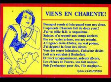 BIEN ETRE en CHARENTE (16) POEME de Sylvio CURMONDO illustré Christian BARICHARD