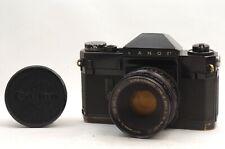 @ Ship in 24 Hours! @ Very Rare! @ Canon Canonflex RP Black 35mm Film SLR Camera