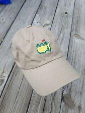 MASTERS Golf by American Needle Khaki Baseball Cap Adjustable