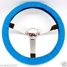 Handmade Steering Wheel Cover Sky Blue