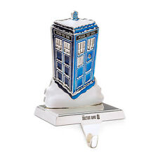 Doctor Who TARDIS XMAS Stocking Holder Ornament figure Authentic *NEW* SALE!!!