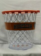 Official WPBA Orange/White Hoopster Basketball Waste Paper Basket Trash Can-NEW!